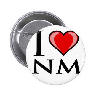 Amo el nanómetro - New México Pins
