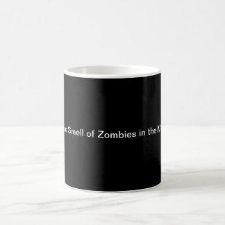 Amo el olor de zombis por la mañana…. taza de café