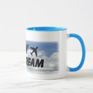 ¡Amo el olor del combustible de avión por la Taza