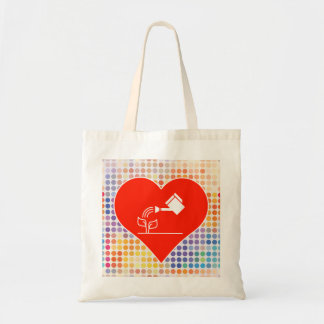 Amo el paquete bolsa tela barata
