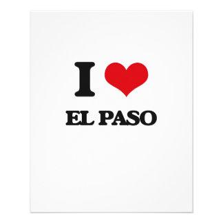 Amo El Paso Flyer A Todo Color