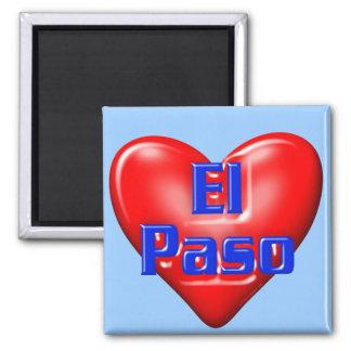 Amo El Paso Imán De Frigorifico