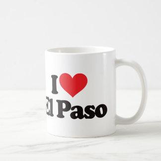 Amo El Paso Taza