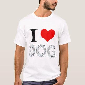 Amo el perro 2 camiseta