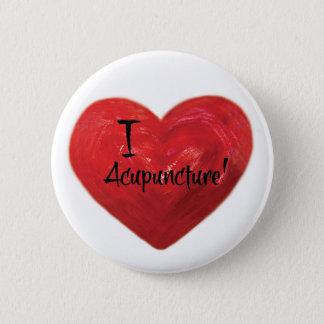 Amo el Pin del botón de la acupuntura