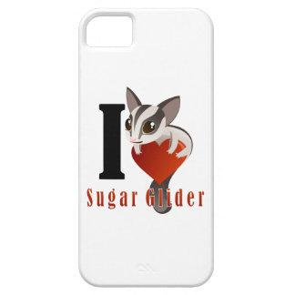 Amo el planeador del azúcar iPhone 5 cárcasas