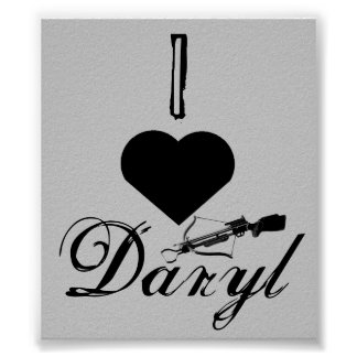 Amo el poster de Daryl