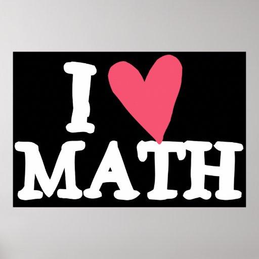 Amo las matemáticas