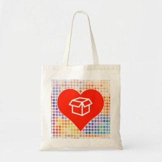 Amo el regalo bolsa tela barata