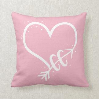 Amo el regalo corriente de la almohada del campo a