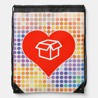 Amo el regalo mochilas