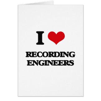 Amo el registrar de ingenieros tarjeta