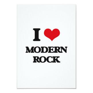 Amo el ROCK MODERNO Invitación 8,9 X 12,7 Cm