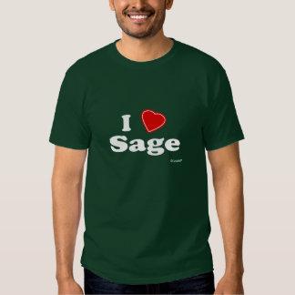 Amo el sabio camisetas