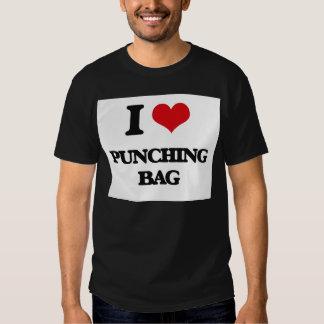 Amo el saco de arena camiseta