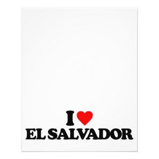 AMO EL SALVADOR TARJETON