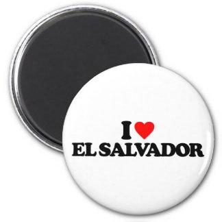 AMO EL SALVADOR IMÁN REDONDO 5 CM
