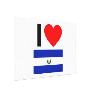 amo El Salvador Impresion En Lona