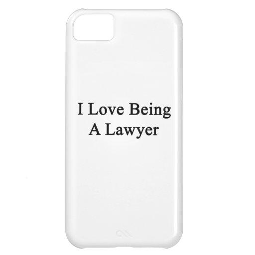 Amo el ser abogado