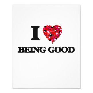 Amo el ser bueno folleto 11,4 x 14,2 cm