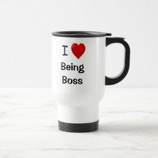 Amo el ser cita de motivación de Boss Boss Taza De Viaje