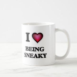 Amo el ser disimulado taza de café