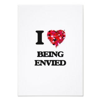Amo el ser envidiado invitación 12,7 x 17,8 cm
