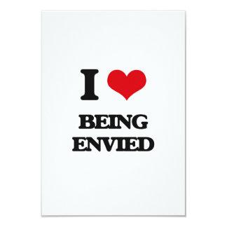 Amo el ser envidiado invitación 8,9 x 12,7 cm