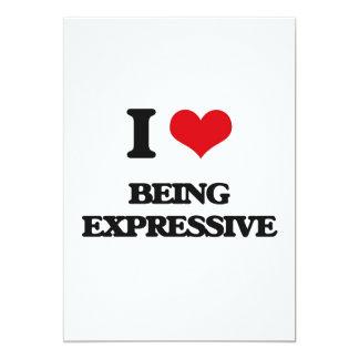 Amo el ser expresivo invitación