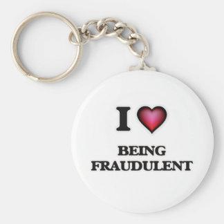 Amo el ser fraudulento llavero