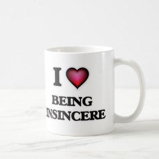 amo el ser insincero taza de café