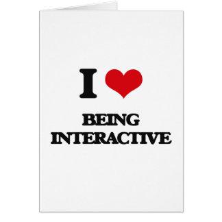 Amo el ser interactivo
