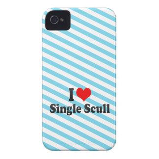 Amo el solo Scull Case-Mate iPhone 4 Protectores