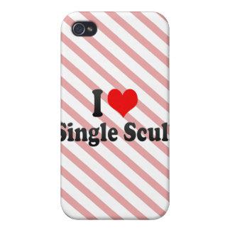 Amo el solo Scull iPhone 4/4S Carcasa
