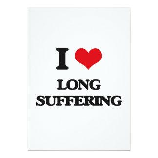 Amo el sufrimiento largo comunicados