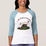 Amo el tejón de miel camiseta