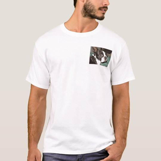 ¡Amo el terrier de Boston! Camiseta