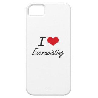 Amo el TORTURAR iPhone 5 Case-Mate Protector