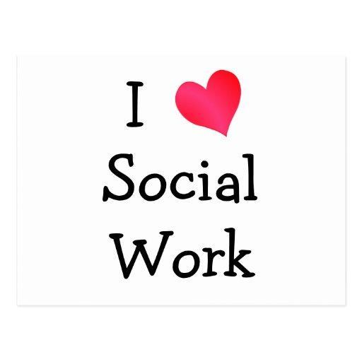 Amo el trabajo social postal