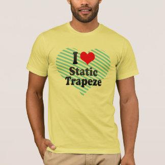 Amo el trapecio estático camiseta