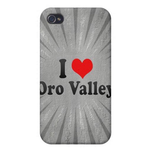 Amo el valle de Oro, Estados Unidos iPhone 4 Carcasas