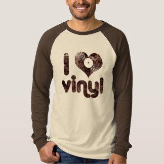 Amo el vinilo - camiseta