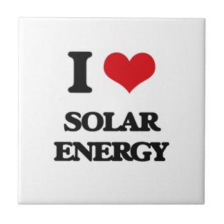Amo energía solar azulejos ceramicos