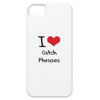 Amo esloganes iPhone 5 carcasa