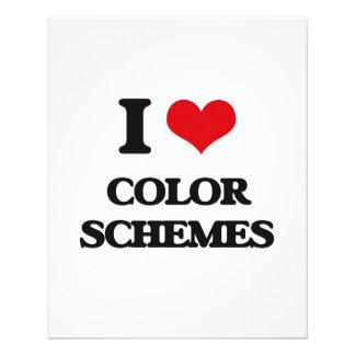 Amo esquemas de color tarjetones
