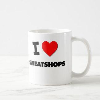 Amo fábricas de explotación taza de café