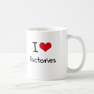 Amo fábricas tazas