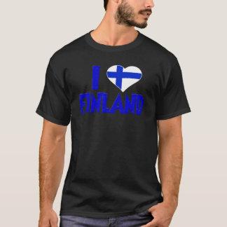 Amo Finlandia Camiseta