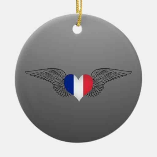 Amo Francia - alas Ornamente De Reyes