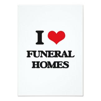 Amo funerarias invitación 12,7 x 17,8 cm